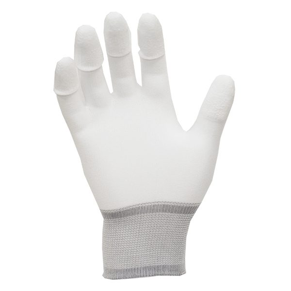 109-0007-ESD-PU-Tip-Gloves-Nylon