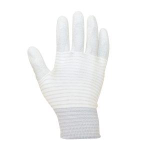 ESD PU Palm Glove Carbon Stripe