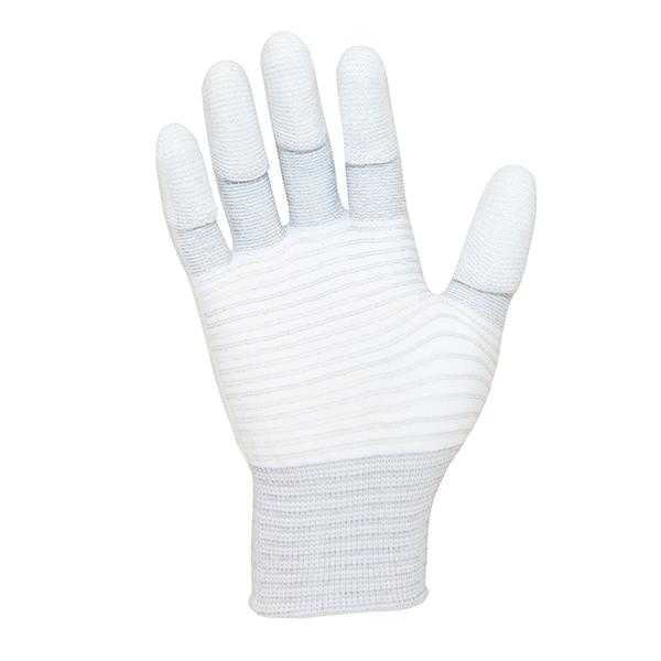 ESD PU Tip Carbon Stripe Glove