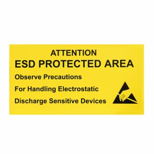 ESD Protected Area Sign