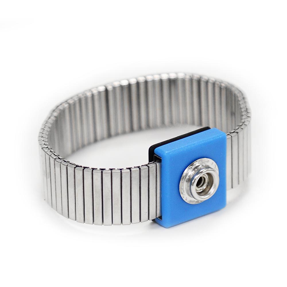 Metal wrist strap