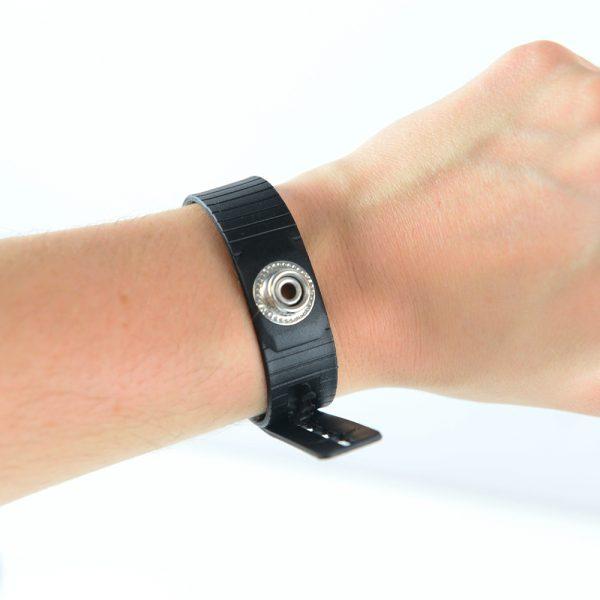066-0051 Black ESD Cleanroom Wristrap – Detail