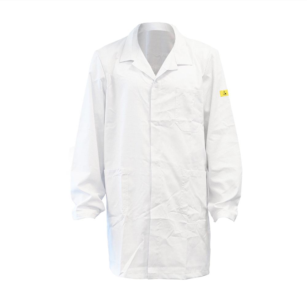 ESD Standard White Lab coat