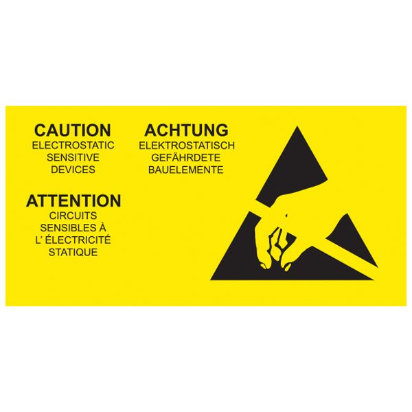 ANT055CLML-ESD-Caution-Label-Multi-Language