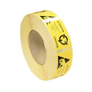 ESD Caution Label - Global