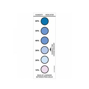 6 Spot Humidity Indicator card