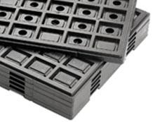 Jedec/waffle trays
