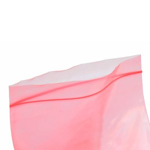 pink antistatic poly bags gripseal