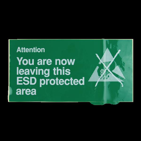 055-0014 ESD Exit Sign