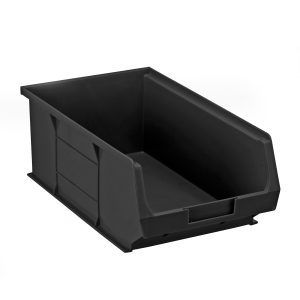 Black Conductive storage bin